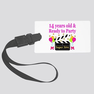 14 YEARS OLD Large Luggage Tag