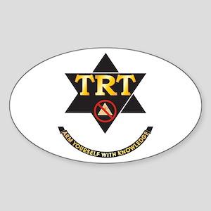 TRT Oval Sticker