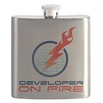 Developer On Fire Flask