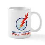 Developer On Fire Mugs
