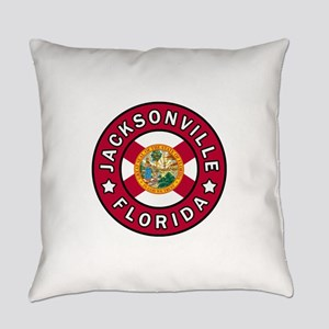 Jacksonville Florida Everyday Pillow