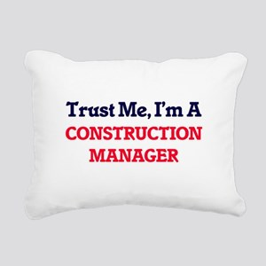 Trust me, I'm a Construc Rectangular Canvas Pillow