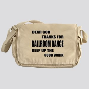 Some Learn Ballroom dance Messenger Bag