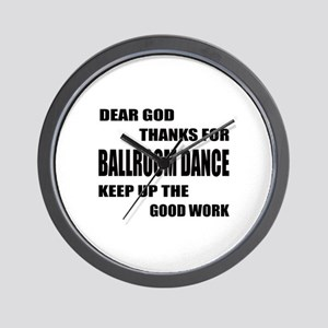Some Learn Ballroom dance Wall Clock