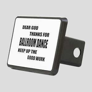 Some Learn Ballroom dance Rectangular Hitch Cover