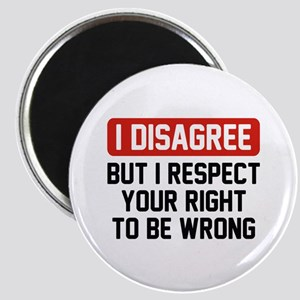 I Disagree Magnet