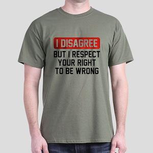 I Disagree Dark T-Shirt