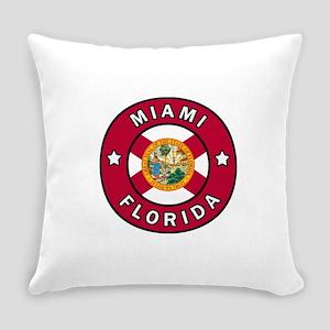 Miami Florida Everyday Pillow