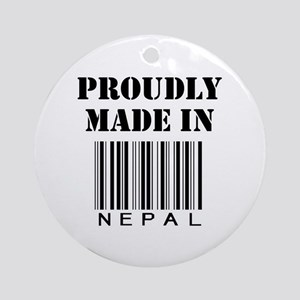 Made in Nepal Ornament (Round)