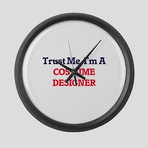 Trust me, I'm a Costume Designer Large Wall Clock
