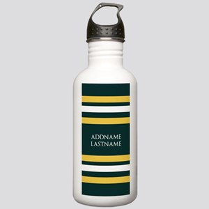 Sports Team Stripes Cu Stainless Water Bottle 1.0L