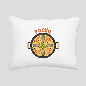 Paella Rectangular Canvas Pillow