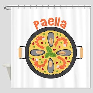Paella Shower Curtain