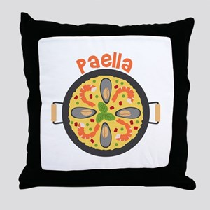 Paella Throw Pillow