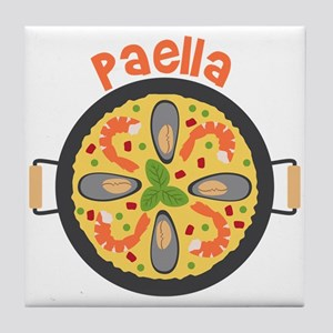 Paella Tile Coaster
