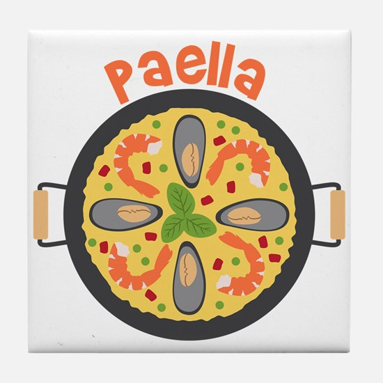Paella Tile Coaster
