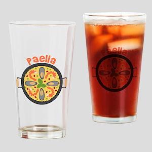 Paella Drinking Glass