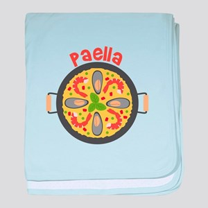 Paella baby blanket