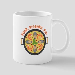 Food Friends Fun Mugs