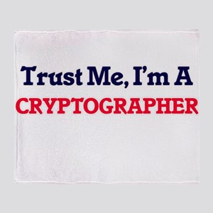 Trust me, I'm a Cryptographer Throw Blanket