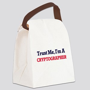 Trust me, I'm a Cryptographer Canvas Lunch Bag