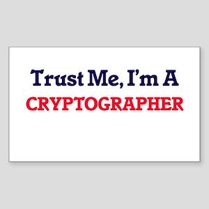 Trust me, I'm a Cryptographer Sticker