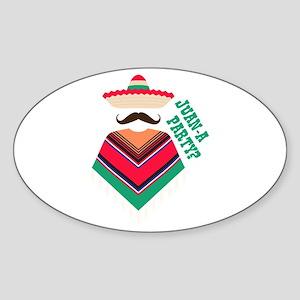 Juan A Party Sticker