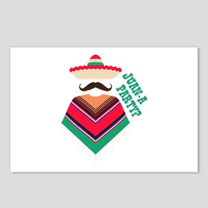 Juan A Party Postcards (Package of 8)