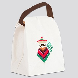 Juan A Party Canvas Lunch Bag
