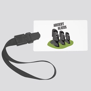 Ancient Aliens Luggage Tag