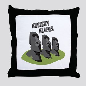 Ancient Aliens Throw Pillow