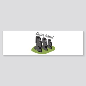 Easter Island Bumper Sticker