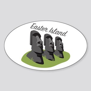Easter Island Sticker