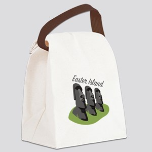 Easter Island Canvas Lunch Bag