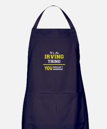 IRVING thing, you wouldn't understand Apron (dark)