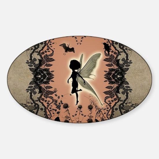 Cute fairy silhouette Decal