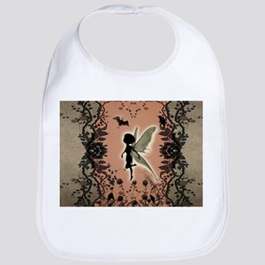 Cute fairy silhouette Bib