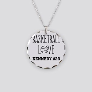 Basketball Love Personalized Necklace