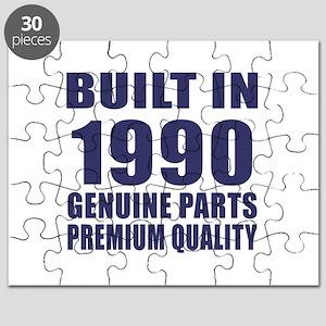 Built In 1990 Puzzle