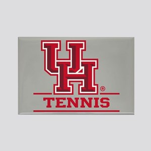 UH Tennis Rectangle Magnet