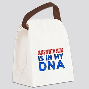 Cross Country Skiing Is In My DNA Canvas Lunch Bag