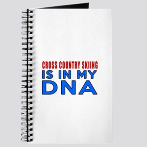 Cross Country Skiing Is In My DNA Journal