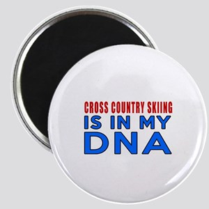 Cross Country Skiing Is In My DNA Magnet