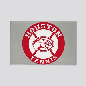 Houston Tennis Rectangle Magnet