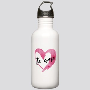 I Love You - Spanish Stainless Water Bottle 1.0L