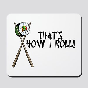 Sushi ROLLing Mousepad