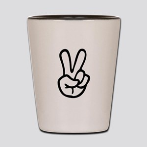 VEE FOR VICTORY! - TWO FINGERED SALUTE! Shot Glass