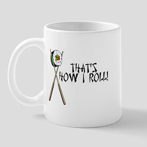 Sushi ROLLing Mug