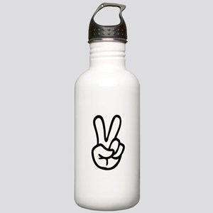 VEE FOR VICTORY! - TWO Stainless Water Bottle 1.0L