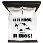 If It Flies, It Dies! King Duvet